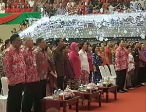 Pada Bulan Desember 2016 Presiden menghadiri Natal Nasional di Tondano.