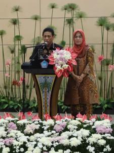 Kajati Sulut Andi Muh. Iqbal Arief (kiri) saat acara pisah sambut Kajati Sulut, di Graha Gubernuran Bumi Beringin, Senin 8 Juli 2019 malam.(Foto: dok/hms)