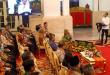 Wagub Sulut Drs Steven Kandouw duduk di barisan depan saat memenuhi Undangan Presiden untuk menghadiri Peresmian Palapa Ring, di Istana Negara, Jakarta, Senin 14 Oktober 2019.(Foto: ist)