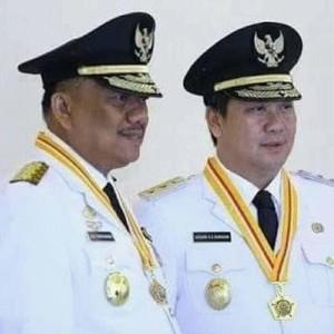Gubernur Sulut Olly Dondokambey SE dan Wagub Drs Steven Kandouw.(Foto: ist)