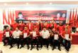Ketujuh kontestan untuk Pilkada Minut usai mengambil formulir di DPD PDI-Perjuangan Sulut, Sabtu 7 Desember 2019.(Foto: ist)