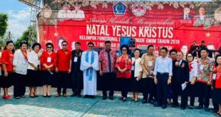 Orang Nomor Satu di Bumi Nyiur Melambai Provinsi Sulawesi Utara ini mengucapkan selamat menyambut Natal kepada seluruh kaum lansia GMIM