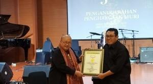 Penghargaan peraihan rekor dunia MURI ini, diberikan atas kecepatan, daya sebar dan banyaknya media siber yang tergabung di SMSI