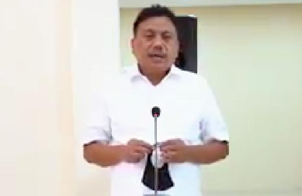 Arahan kepada seluruh masyarakat Sulut disampaikan Gubernur Sulut Olly Dondokambey melalui video yang disebarluaskan di media sosial.(Foto: dok/scs)