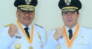 Gubernur Sulut Olly Dondokambey SE dan Wakil Gubernur Drs Steven Kandouw.(Foto: ist)