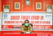 Dr Steaven Dandel MPH, Tim Kehumasan Gugus Tugas Covid-19 Sulut saat merilis kasus Covid-19, Senin 8 Juni 2020.(Foto: scs/gyp)