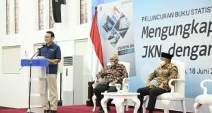 Peluncuran Buku Statistik JKN 2014-2018 oleh Dewan Jaminan Sosial Nasional, Kamis 18 Juni 2020.(Foto: ist)